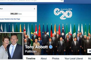 """Thủ tướng Úc Tony Abbott """"Tui"""" không mua 'LIKE' trênFacebook"""