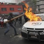 Mexico: Cảnh sát đụng độ với người biểu tình