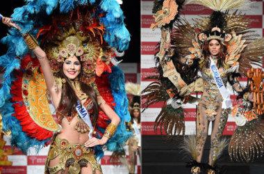 Đặng Thu Thảo dự Miss Trang Phục Dân Tộc 2014