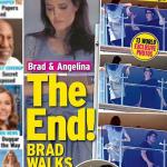 Jolie bị chụp tranh cãi với Brad Pitt