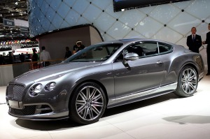 2014 Bentley Continental GT Speed Geneva 2014 Photos (2)
