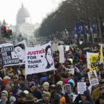 Người Mỹ da đen tuần hành, phản đối cảnh sát