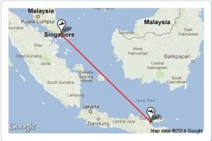 map-of-flight-path