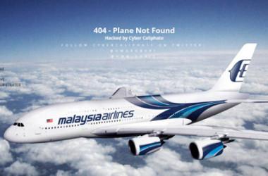 Web Malaysia Airlines bị tin tặc tấn công
