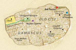 Damascus-old-city-map