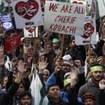 Dân Pakistan biểu tình phản đối biếm họa Tiên tri Muhammad