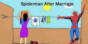 Husband-and-wife-Jokes-The-mighty-Spiderman-after-marriage-Funny-Husband-and-wife-Jokes