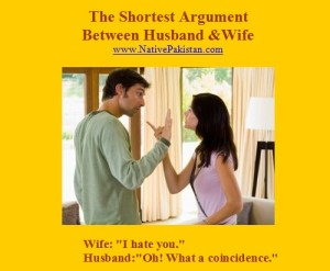 Husband-and-wife-Jokes-in-English-The-shortest-argument-between-husband-and-wife