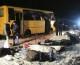 Pháo kích vào xe buýt ở đông Ukraine, 11 người chết