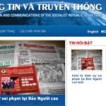 VN đình chỉ website báo Người Cao Tuổi, cách chức tổng biên tập