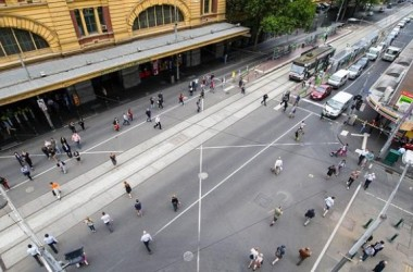 Hội đồng Melbourne City lên kế hoạch nâng cấp ngã tư Elizabeth Street- Flinders Street