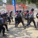 Cảnh sát Myanmar trấn áp sinh viên biểu tình