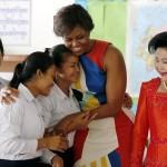 Đệ nhất phu nhân Hoa Kỳ lần đầu thăm Campuchia