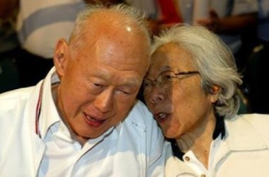 Lời từ biệt của Lý Quang Diệu dành cho vợ!