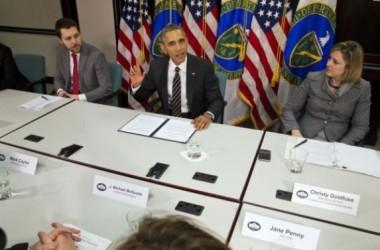 Baracks Obama ký sắc lệnh giảm mức khí thải gây hiệu ứng nhà kính