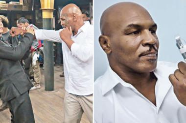 Mike Tyson bị Chung Tử Đơn đánh gãy ngón tay