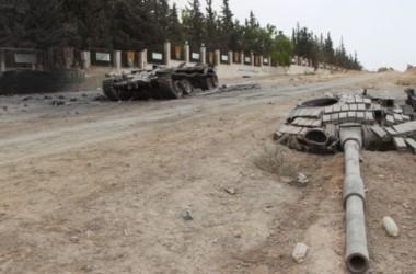 Phiến quân Syria chiếm thành phố của chính phủ ở Idlib