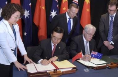 Phản ứng về thỏa thuận mậu dịch tự do Úc -Trung Quốc
