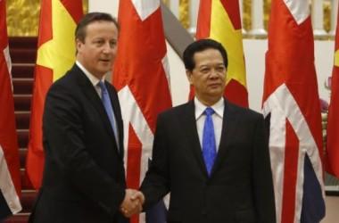 Thủ Tướng Anh David Cameron hành động chống buôn trẻ em Việt Nam