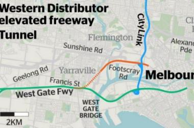 Victoria sẽ quyết định triển khai dự án Western Distributor?