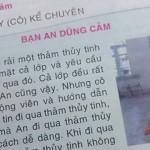 Sách dạy trẻ dũng cảm đi trên thủy tinh vỡ gây tranh cãi tại Việt Nam