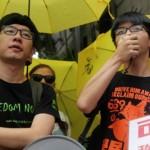 Alex Chow,Joshua Wong bị đưa ra tòa vụ Biểu Tình Hong Hong 2014