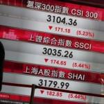 Chứng khoán Trung Quốc tiếp tục lao dốc không phanh