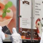 Cảnh sát Áo cứu 3 em nhỏ gần chết trong xe tải