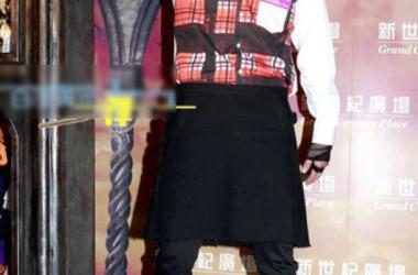 Huỳnh Tông Trạch tài tử thích mặc váy