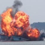 Indonesia đánh chìm tàu cá Việt Nam, Thái Lan