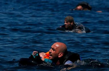8 Trẻ em di cư chết đuối trên biển Hy Lạp