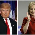 Bà Clinton và ông Trump thắng ở bầu cử Siêu Thứ Ba
