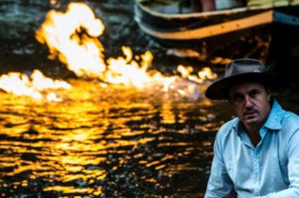Giòng sông bốc lửa ở Queensland