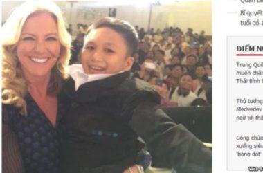 Bà trùm nội y Michelle Mone bồng nhằm bé trai Việt 46 tuổi