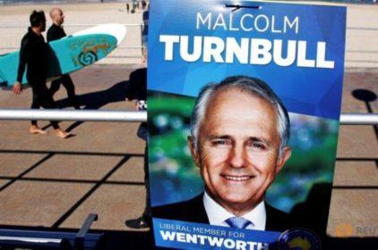 Malcolm Turnbull lập danh sách nội các mới