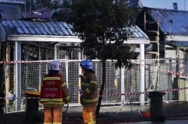 Melbourne đêm kinh hoàng Thần Hỏa đốt 3 căn nhà