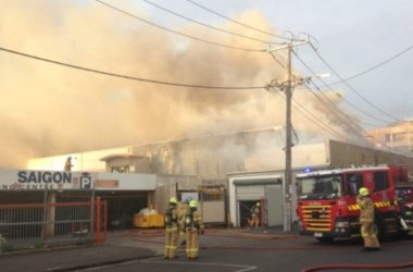 Tìm ra nguyên nhân cháy chợ Little Sài Gòn Footscray tại Melbourne