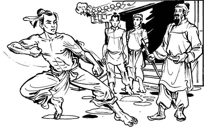 Image result for vua Quang Trung và Ô Long Đao
