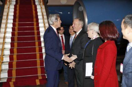 Ngoại trưởng Mỹ John Kerry thăm Việt Nam trước khi rời chức