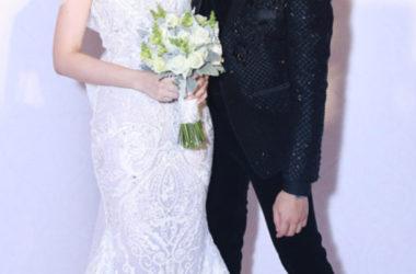 Trấn Thành mang giày cao trong đám cưới?