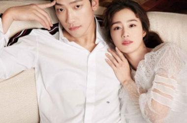 Ảnh lãng mạn của vợ chồng Rain và Kim Tae Hee