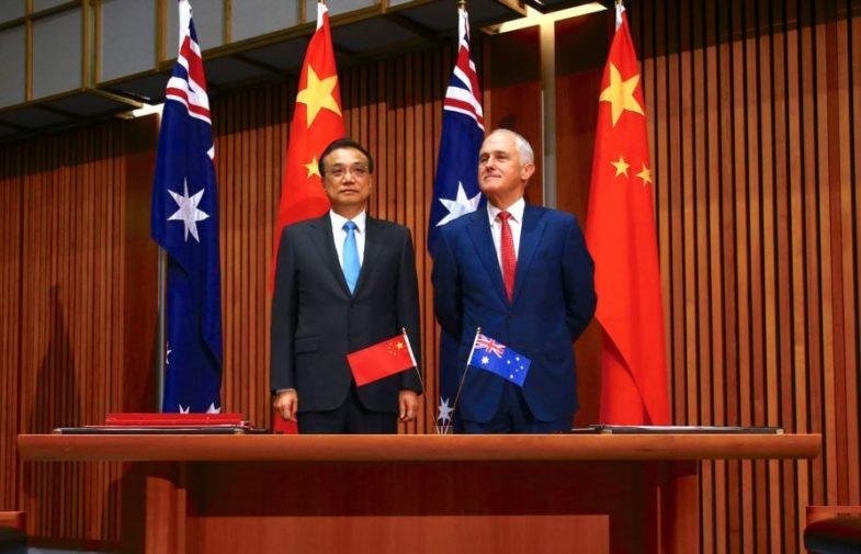 Lý Khắc Cường thúc đẩy thương mại Úc – Trung