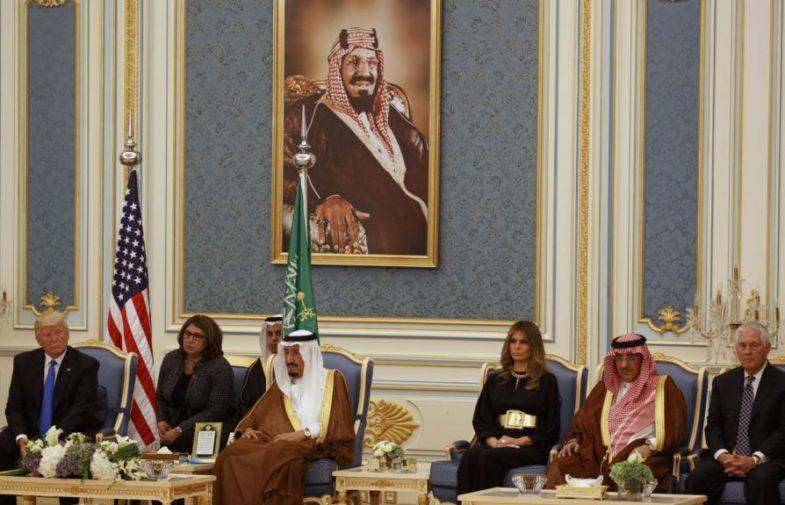 Ả Rập Xê-út trải thảm đỏ đón Tổng Thống Donald Trump