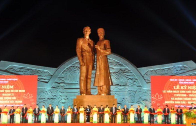 Mừng sinh nhật Cố Chủ Tịch Hồ Chí Minh với tượng đài 118 tỷ đồng
