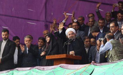 Tổng thống Iran Hassan Rouhani tái đắc cử