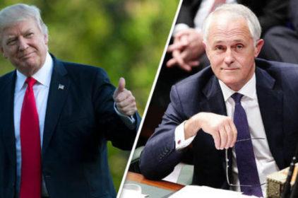 Donald Trump dự kiến gặp Thủ Tướng Malcolm Turnbull ngày 4/5/2017