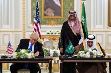 Trump ở Ả Rập Xê-út: Vua Salman trao huân chương và ký hợp đồng 100 tỉ