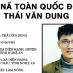 Việt Nam truy nã Thái Văn Dung