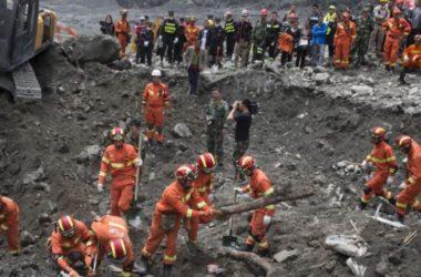 93 người mất tích sau vụ lở đất ở Trung Quốc