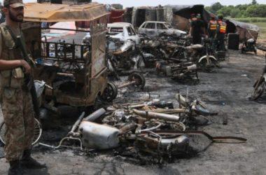 140 người chết trong vụ nổ xe chở dầu ở Pakistan